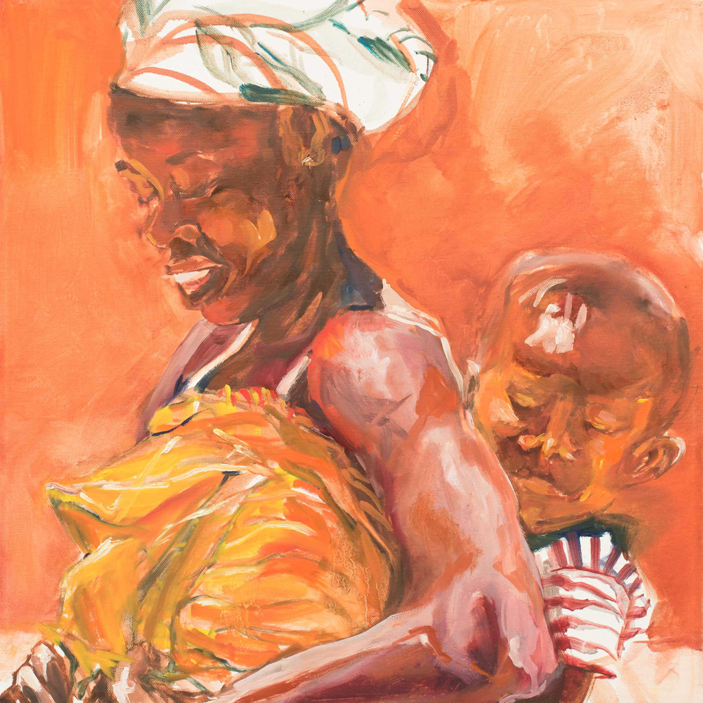 African and Child