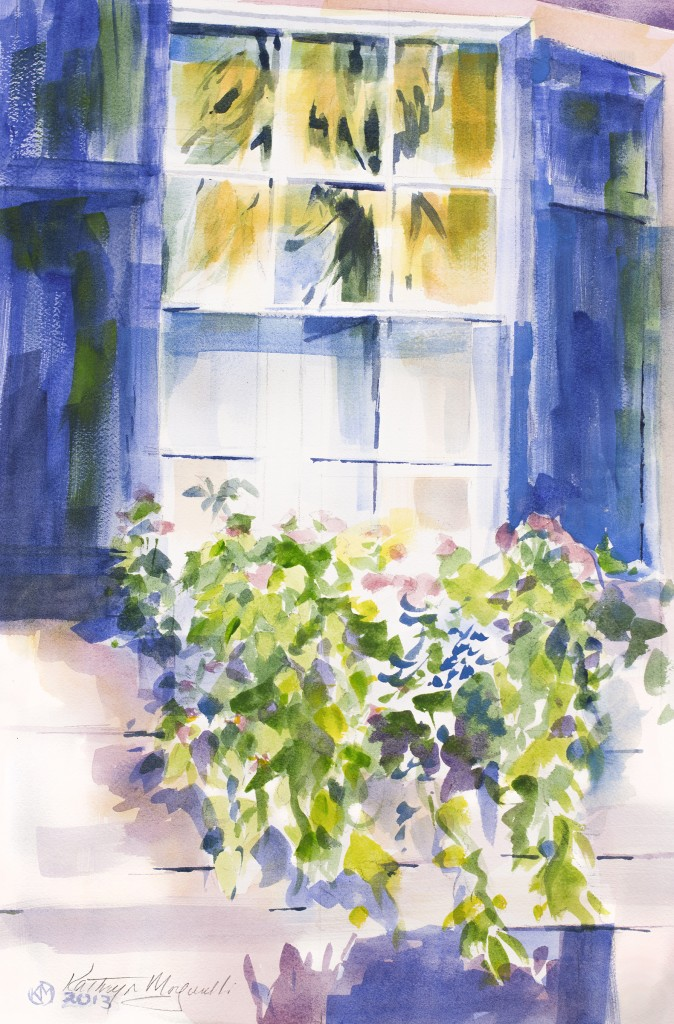 Charleston Flower Box by Kathryn Morganelli