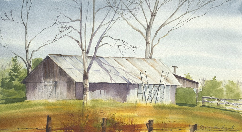 Virginia Barn by Kathryn Morganelli