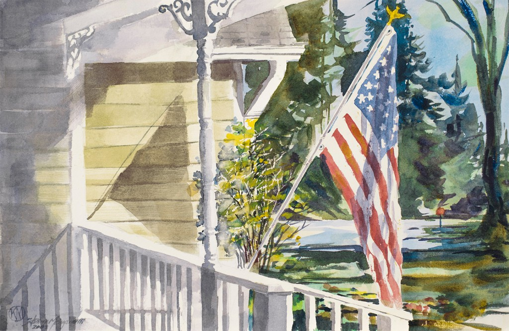 Reflecting On Our Freedom by Kathryn Morganelli